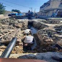 بیش از یکهزار و ۶۰۰ متر توسعه و اصلاح شبکه آب در ایذه