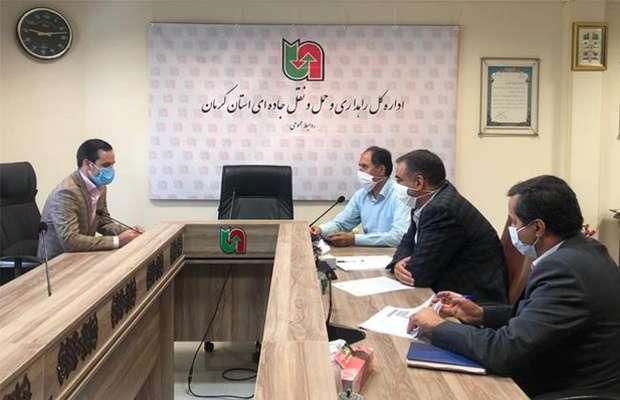 دیدار رئیس سازمان نظام مهندسی ساختمان با مدیر کل راهداری و حمل و نقل جاده ای استان
