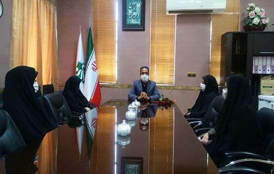 تجلیل از بانوان کارمند شهرداری مهریز به مناسبت هفته عفاف و حجاب