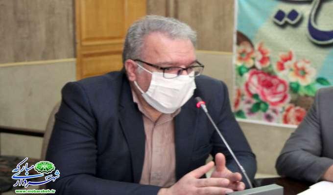 جلسه ستاد بازآفرینی شهری پایدار مبارکه برگزار شد
