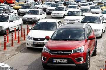 ترافیک محورهای هراز و چالوس سنگین است