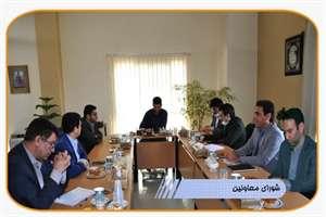برگزاری چهارمین جلسه شوای معاونین راه و شهرسازی استان اصفهان در سال 99