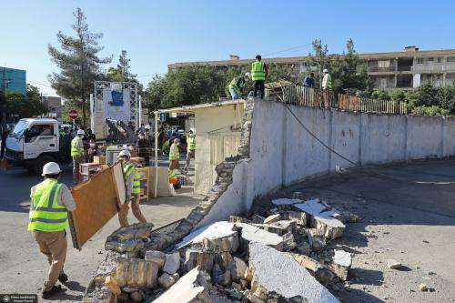 دیوارهای شهرک بهشتی و پردیس برای پیوند با شهر حذف  ...