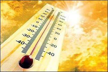 تفاوت ۴۱ درجهای دما در دو مرکز استان/ رگبار باران در مناطقی از نوار شمالی