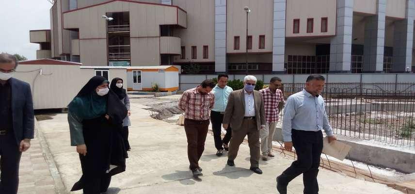 بازدید محمد حسن عاقل منش ، عضو شورای اسلامی شهر رشت از پروژه در حال احداث مجتمع ورزشی باستانی امام علی (ع)