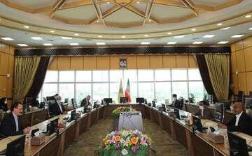 راههای توسعه همکاریهای ریلی بین ایران و هند بررسی شد