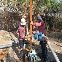 پایداری شبکه آبرسانی روستایی دزفول با تعمیر و تعویض ۲ الکتروپمپ تاسیسات آبرسانی