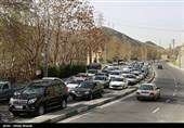 جزئیات محدودیت ترافیکی آخر هفته/ افزایش ۲.۳ درصدی تردد خودروها در جاده ها