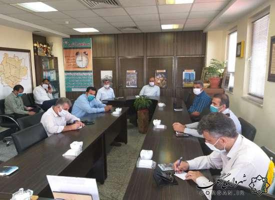 جلسه فوری مدیریت بحران شهرداری گرگان پیرو اطلاعیه هواشناسی