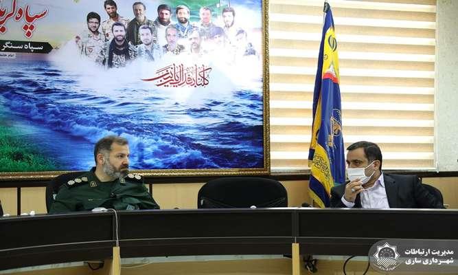 شهرداری ساری در اجرای برنامههای فرهنگی همراه سپاه کربلای مازندران است