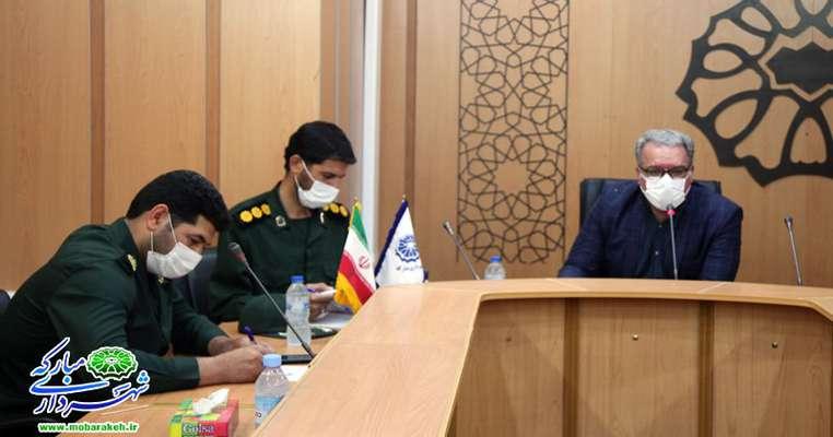 جلسه برنامه ریزی طرح کرامت با حضور مسئولین و به میزبانی شهرداری مبارکه برگزار شد