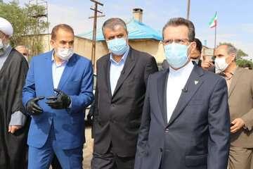 وزیر راه و شهرسازی برای بازدید از چند پروژه در دست اجرا وارد زنجان شد