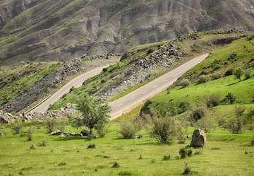 بازدید وزیر راه و شهرسازی از محور بیجار-طارم-منجیل