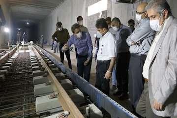بازدید عضو هیات مدیره شرکت شهرهای جدید کشور از شهرهای مجلسی، بهارستان و فولادشهر