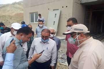 پیگیری سرزده وزیر راه و شهرسازی از آخرین وضعیت پروژههای مسکن مهر پردیس