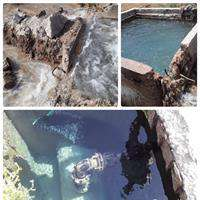 رفع ۲ مورد شکستگی عمدی در خط انتقال آب حیات/ جلوگیری از هدررفت ۲۴۰ مترمکعب آب آشامیدنی در اهواز