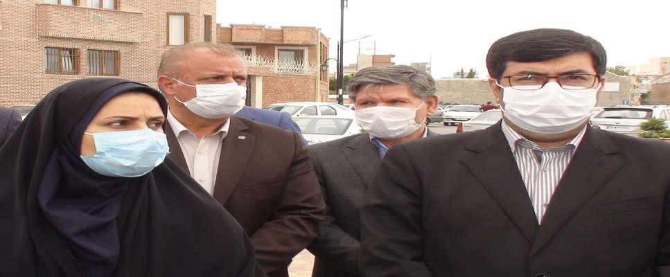 بازدید معاونین وزیر راه و شهرسازی از پروژههای استان اردبیل