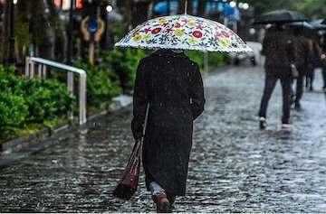 وقوع رگبار باران و وزش باد در اکثر نقاط کشور طی هفته جاری/کاهش دما در شمال کشور از اواخر هفته