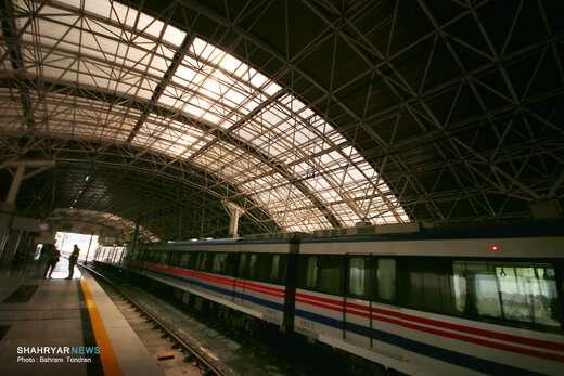 ایستگاه میدان قطب خط ۱ مترو تبریز به زودی به بهره برداری میرسد