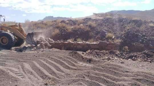 16 بند خاکی بزرگ غیر فنی در تربت حیدریه تخریب شد