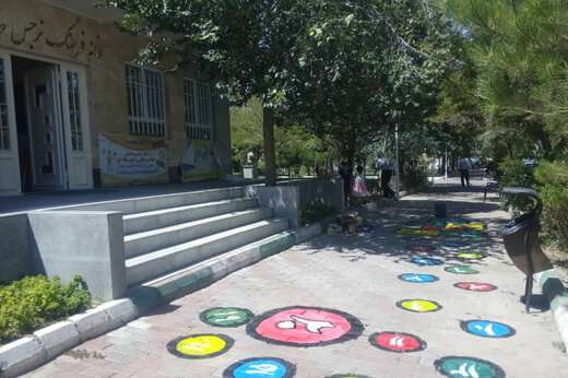 شهرداری منطقه ۲ تبریز برای کودکان حیاط پویا راه اندازی کرد