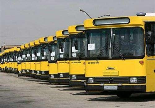 توقف سرویس دهی ناوگان اتوبوسرانی مشهد در تعطیلات رسمی و جمعه ها
