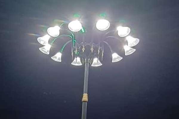 تقویت و بهسازی روشنایی بوستان ها با فرآیندی مناسب در حال اجراست