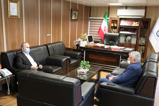 دیدار فرماندار شهرستان تالش با مدیرعامل شرکت آب و فاضلاب استان گیلان