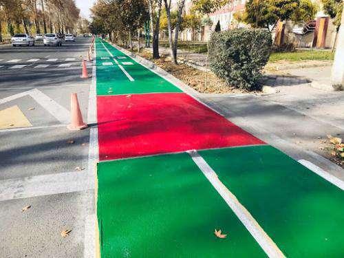 احداث مسیر ویژه دوچرخه خیابان بهشتی در محدوده باغ الندشت