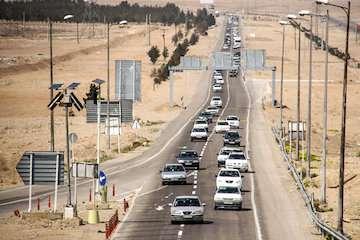 افزایش ۲/۳ درصدی ترددهای جادهای در ۲۴ ساعت گذشته