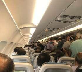 پروتکلهای بهداشتی در پروازها رعایت نمی شود؟ +توضیح سازمان هواپیمایی