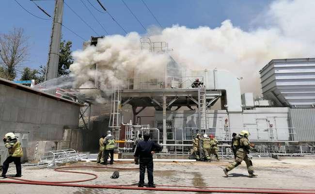 آتشسوزی واحد گازی نیروگاه طرشت برطرف شد/ عملیات جوشکاری عامل وقوع حادثه بوده است/ مراحل آمادهسازی واحد در حال انجام است