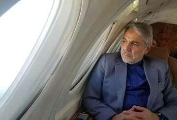 بازدید هوایی معاون رییس جمهوری از پروژه بزرگراه دشت ارژن – ابوالحیات