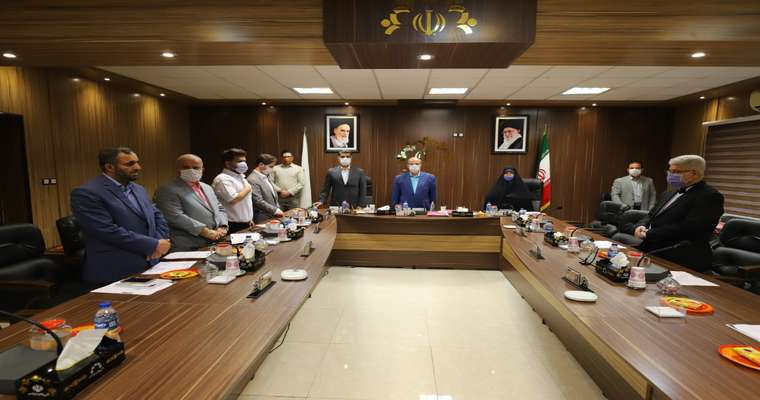 گزارش تصویری جلسه صحن شورای اسلامی شهر رشت مورخ 99/05/08