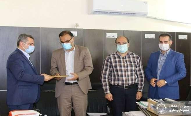 سرپرست جدید امور قراردادهای شهرداری ساری منصوب شد