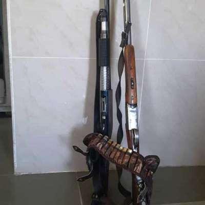متخلفان شکار و قبل از اقدام به شکار در شهرضا دستگیر شدند