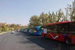 فعالیت ناوگان اتوبوسرانی شیراز از سرگرفته شد