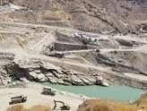 تونلهای انحراف آب سد دالکی بوشهر در آستانه بهرهبرداری