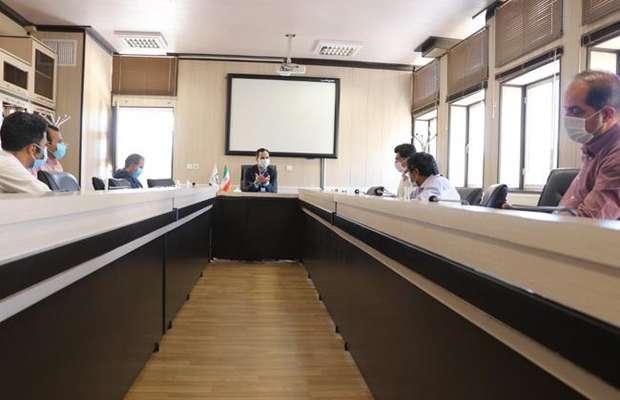 جلسه رئیس سازمان با شرکت های صاحب صلاحیت در حوزه ژئوتکنیک