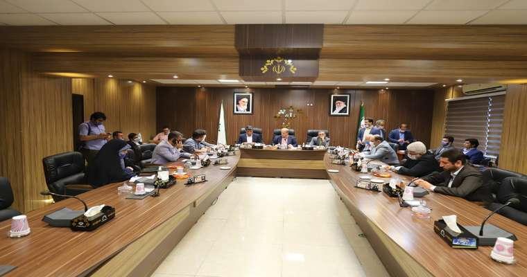 گزارش تصویری جلسه صحن شورای اسلامی شهر رشت مورخ 99/5/11