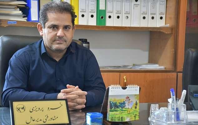 پرویزی مشاور فنی خبرداد: عملیات اجرایی خط فوق توزیع بهمئی به پایان رسید
