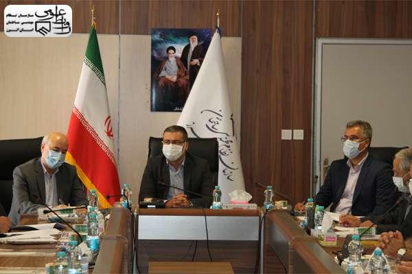 جلسه مشترک سازمان نظام مهندسی ساختمان البرز با شرکت گاز استان و