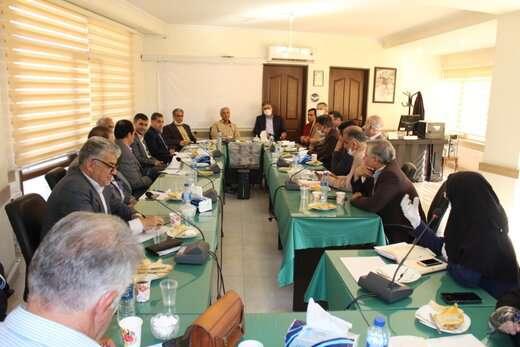 جلسه مشترک مدیران شهرداری تبریز و صندوق بازنشستگی آذربایجان شرقی برگزار شد