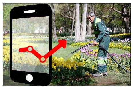 راهاندازی اپلیکیشن نظارت بر پیمانکاران فضای سبز مشهد