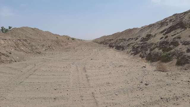 2.5 کیلومتر از مسیل چاه سلطان بردسکن لایروبی شد
