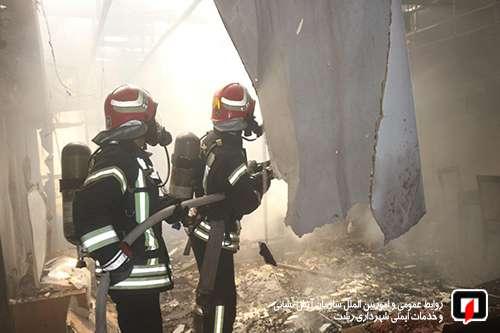 پوشش 53 مورد حریق، حادثه و خدمات ایمنی  توسط آتش نشانان در 48 ساعت گذشته/آتش نشانی رشت