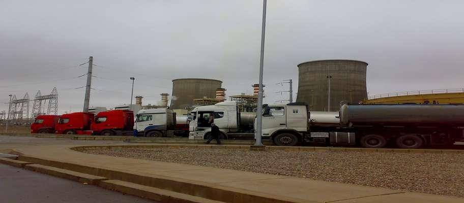 تخلیه بیش از 23 میلیون لیتر سوخت مایع در نیروگاه یزد