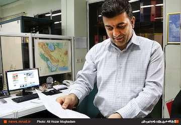 گردوخاک و افزایش سرعت وزش باد در تهران و ۵ استان برای ۲ روز آینده/افزایش دما  در استانهای ساحلی خزر از دوشنبه هفته آتی