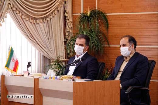 جلسه هماهنگی مدیران انفورماتیک مناطق ۱۰گانه شهرداری تبریز برگزار شد