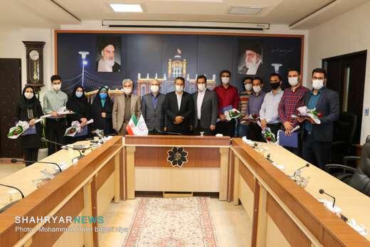 حضور شهردار تبریز در جمع خبرنگاران پایگاه خبری شهریار